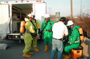 Suiting up for Hazmat